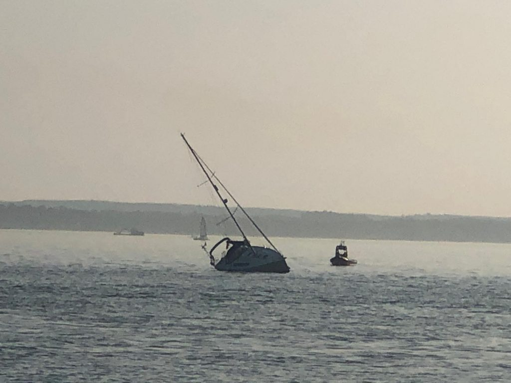 Sailing offshore